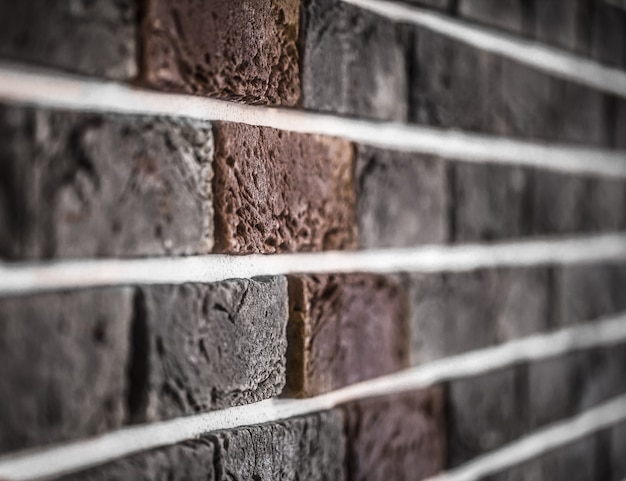 Brick wall closeup