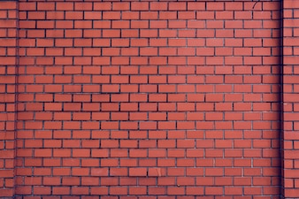 Brick Wall Orange Wallpaper Patter