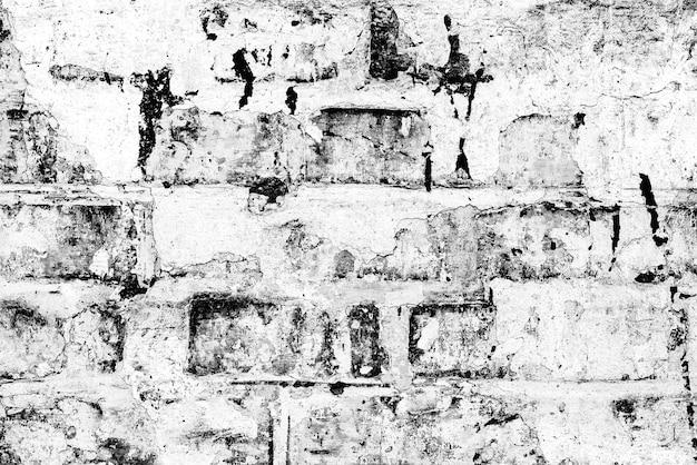 벽돌 벽 질감 배경입니다. 긁힘 및 균열이있는 벽돌 질감