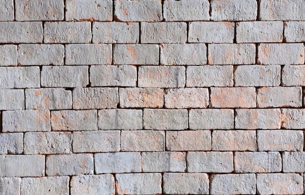 レンガの壁のテクスチャの背景。レトロなスタイル