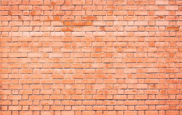 レンガの壁のテクスチャの背景。ヴィンテージグランジ建築やインテリアデザインの抽象的なテクスチャ。