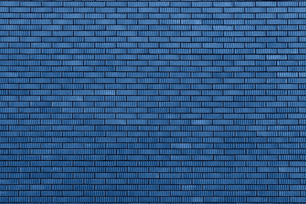 Brick wall texture. background with copy space for design. trendy blue and calm color.