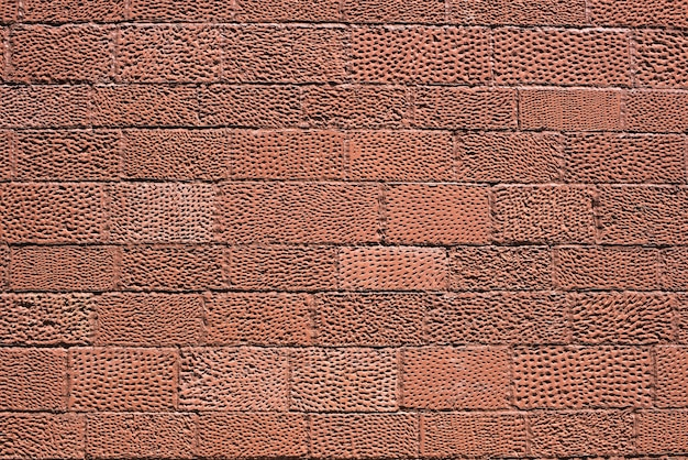 レンガ壁のテクスチャ背景