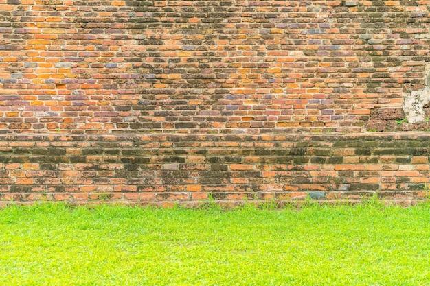 Struttura di muro di mattoni per sfondo