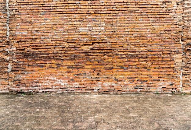 背景のレンガの壁のテクスチャ