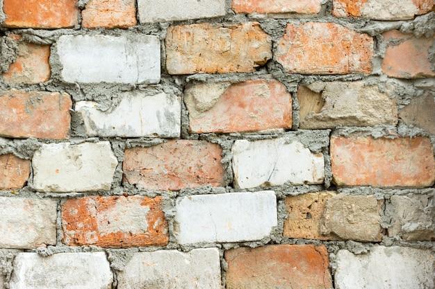 Brick wall texture grunge urban street background