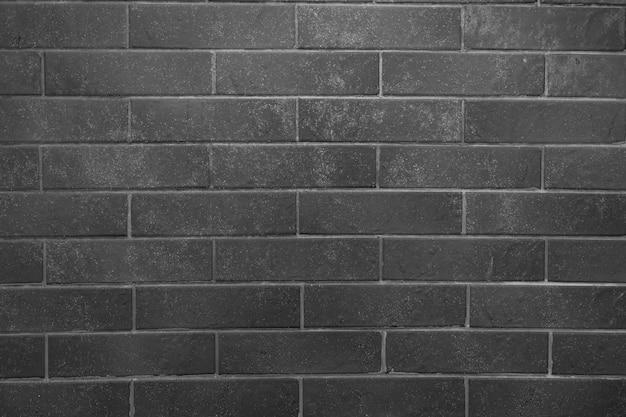 れんが壁。灰色の詰物と灰色のレンガのテクスチャ
