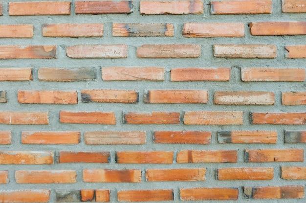 背景のレンガの壁のテクスチャパターン