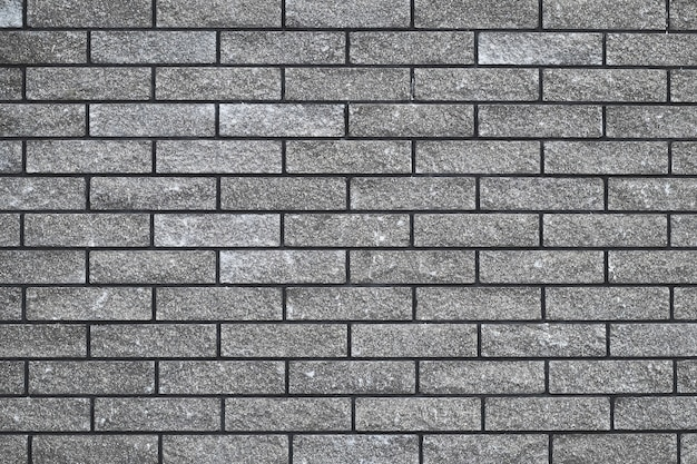 Brick wall texture, seamless stone pattern, gray brickwall, abstract grey background, urban design.