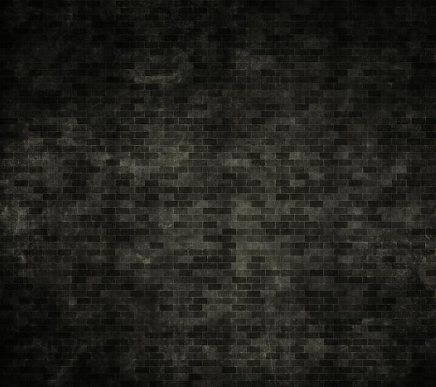 グランジスタイルの効果を持つレンガの壁