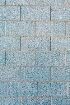 Muro di mattoni con superficie ruvida