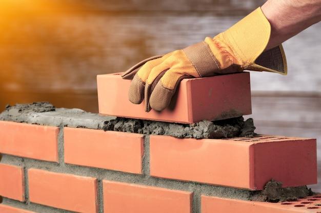 煉瓦工セメント組積造ビルドレイヤーハウスワーカー