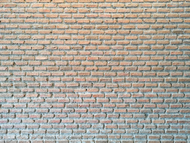 Bricks and concrete texture for pattern abstract background.