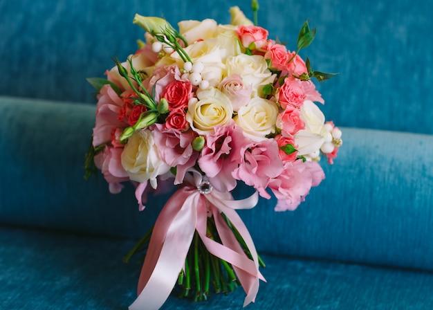 Bridal bouquet.
