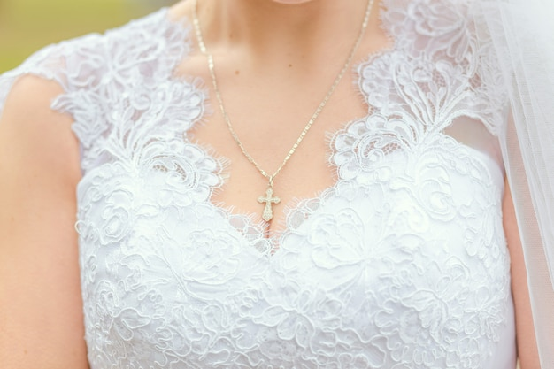 Bride chest.