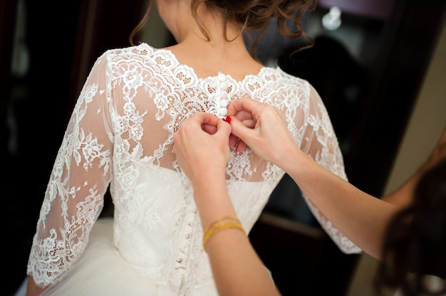 Bride dress dress.