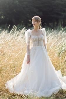 自然の中の花嫁