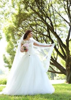 Невеста в день свадьбы