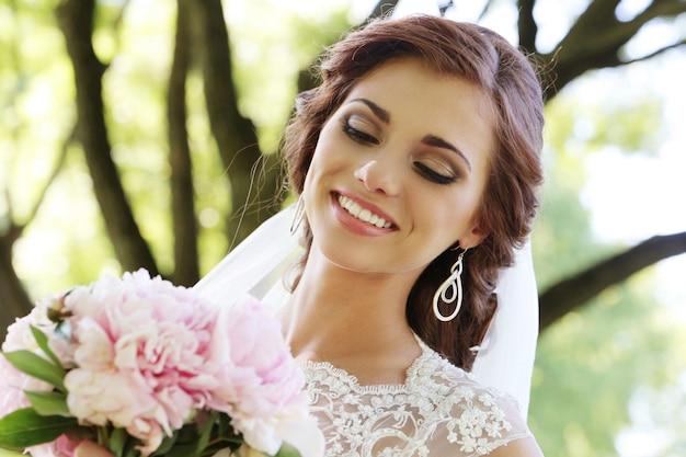 結婚式の日の花嫁