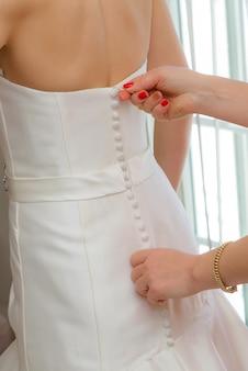 신부 웨딩 드레스 프리미엄 사진