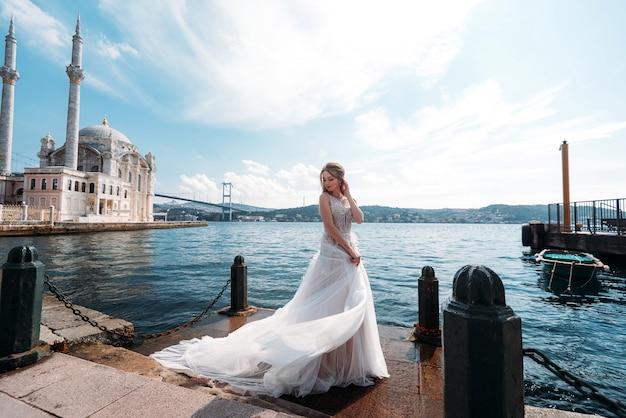 Свадебная сессия невесты в стамбуле