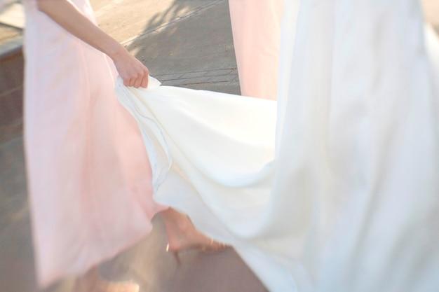 Поезд невесты для невесты Premium Фотографии