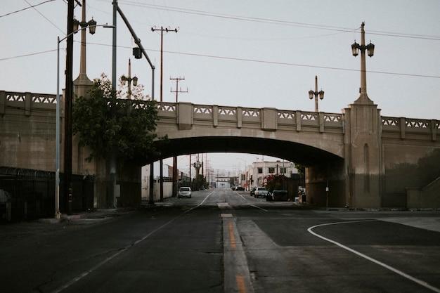 Bridge in downtown los angeles