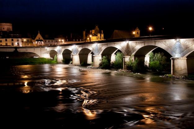 Bridge over the loire river