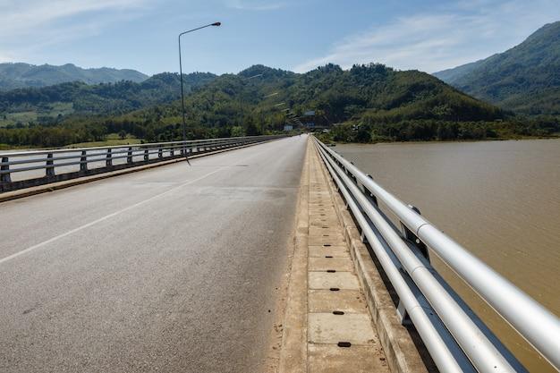 Bridge over the mekong river