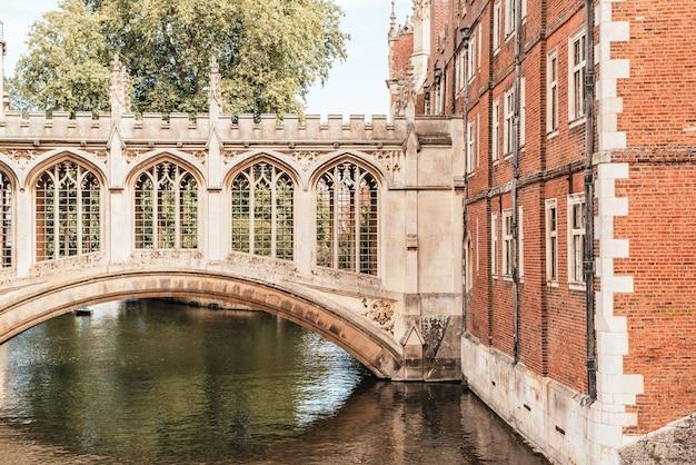 Мост вздохов в кембридже