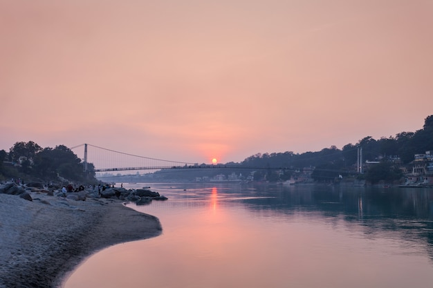 Bridge in rishikesh
