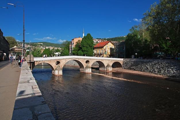 The bridge in sarajevo city, bosnia and herzegovina