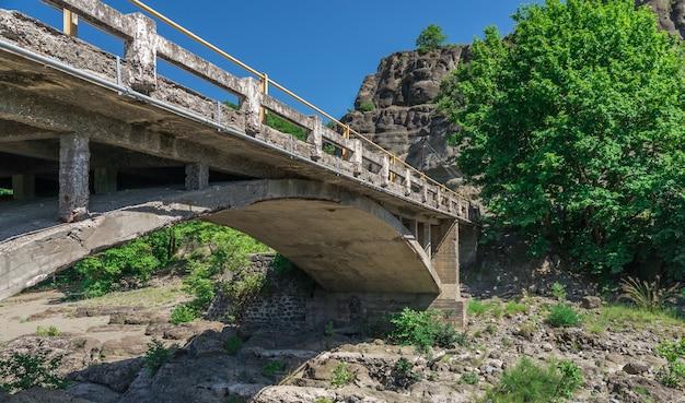 Bridge over veneticos river  in greece