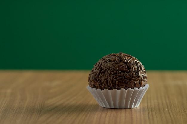 Brigadeiro gourmet or gourmet chocolate from brazil