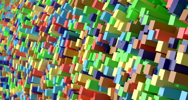 Bright abstract background. 3d rendering.