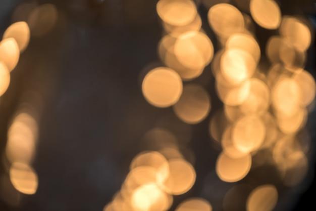 Яркий абстрактный размытый золотой блеск holiday bokeh