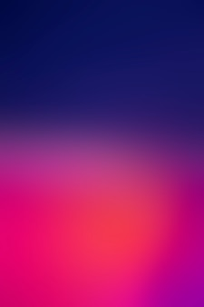 Bright beautiful colors in gradient