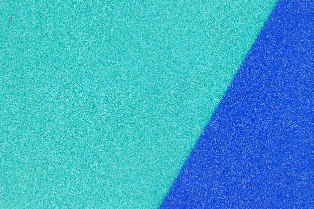 Bright blue colored noisy surface