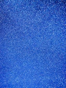 Ярко-синий фон с блестками