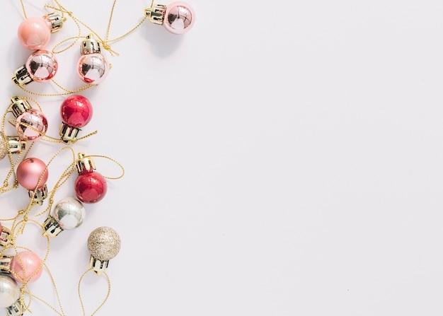 Brightchristmas baubles