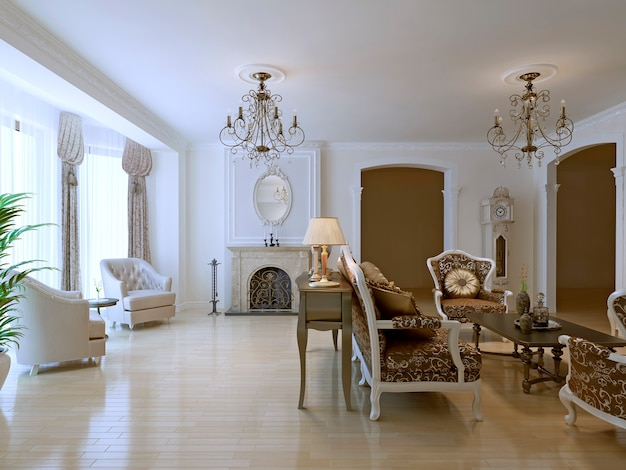 Bright classic lounge room trend