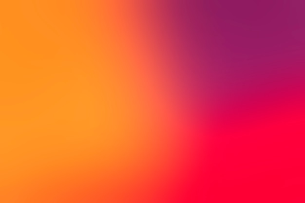 Bright colors arrayed in gradient