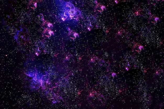 A bright fantasy galaxy. elements of this image were furnished by nasa. high quality photo