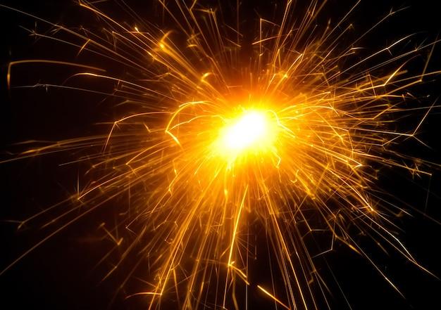 明るいお祭りの花火