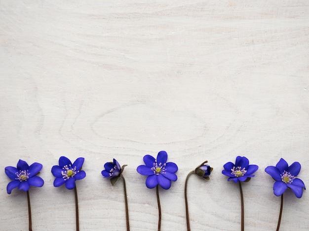 밝은 꽃과 비문 장소.