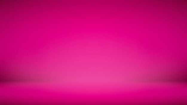 Bright gradient shocking pink abstract display background