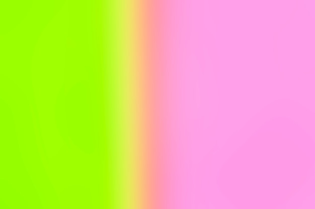 Bright green and pink gradient