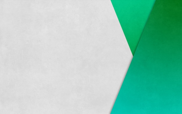 Bright green triangle boxed paper texture background business banner