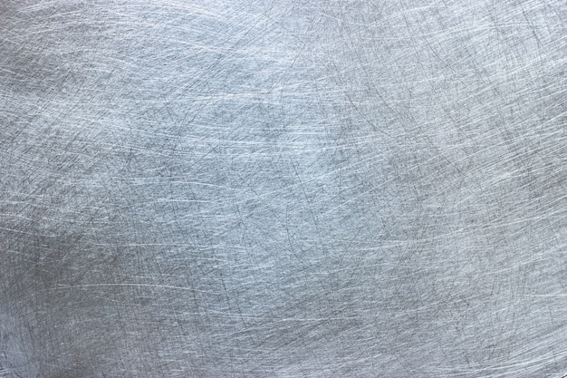 Bright metallic texture, natural pattern on a surface of aluminum plate