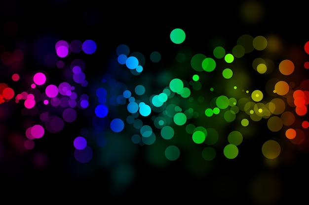 Bright neon abstract background for your design